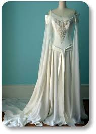 celtic wedding dresses wedding gown this is not actually a antique but a replica