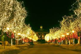 historic downtown littleton colorado during the holidays