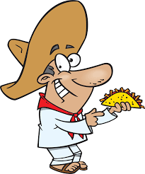 cartoon sombrero cartoon taco clipart cliparts and others art inspiration