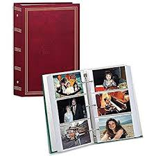 4 x 6 photo album 4 x6 3up 3 ringg album refill pages home kitchen