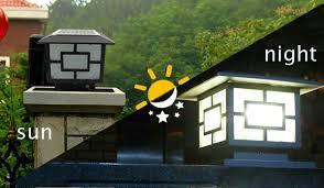 solar powered pillar lights 49 best of solar pillar lights light for inspiration design