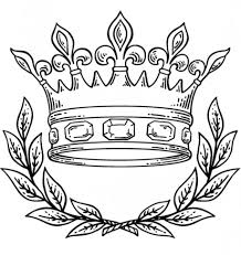 free coloring page crown kids drawing and coloring pages marisa