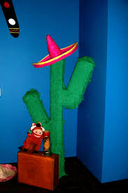 giant 5 u0027 cactus handcrafted pinata for the around the world in 90