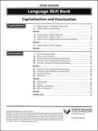 capitalization u0026 punctuation language skill b 014946 details