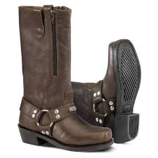 buy boots products india buy river road square toe zip harness boots india high