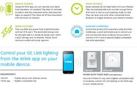 ge link light bulb ge link light bulbs on the wink network residential automation