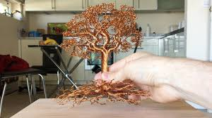 a detailed wire tree time lapse