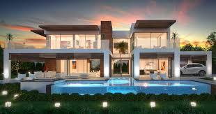 modern villas for sale luxury contemporary villas and real