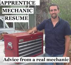 Sample Diesel Mechanic Resume by Apprentice Mechanic Resume Advice From A Real Mechanic