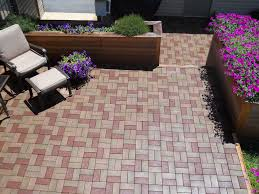 Paver Ideas For Patio by Flooring Azek Pavers Plus Chairs And Table Plus Plans For Patio Ideas