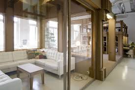 modern appearance and exotic interior glass doors amaza design