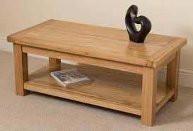 Solid Oak Coffee Table Oak Coffee Table Light Oak Lounge Table Solid Wood