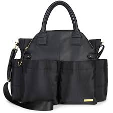 diaper bags black friday amazon com skip hop chelsea downtown chic diaper satchel black