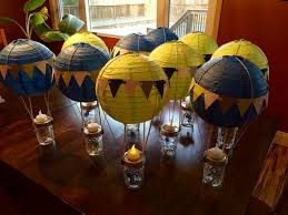 Table Top Balloon Centerpieces by Let U0027s Talk About Creative And Fun Diy Baby Shower Table Top