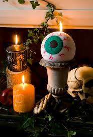 candles for halloween make an eyeball candle with your kids for halloween