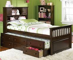 Trundle Bed With Bookcase Headboard 14 Best Trundle Beds Images On Pinterest Trundle Beds 3 4 Beds
