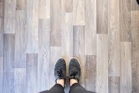 How To Put In Wood Flooring How To Install A Vinyl Floor In Your Van Morey U0027s In Transit