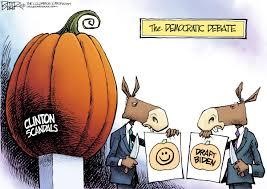 Nate Beeler Cartoons Beeler Cartoon Democrat Debate And Biden
