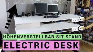 Schreibtisch H Enverstellbar Funvit Com Graue Fliesen