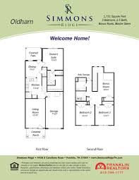 simmons homes floor plans simmons ridge franklin tn real estate u003e floorplans