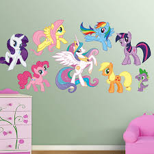 My Little Pony Bedroom Fathead Presents My Little Pony Friendship Is Magic Huge Wall