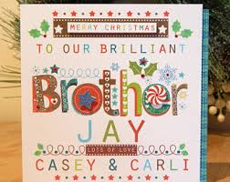 card for brother etsy