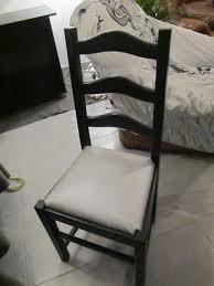 chaise en bois et paille le de line relooker des chaises à vos pinceaux