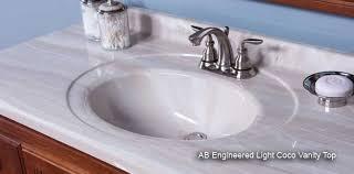 home depot marble granite vanity top with cupc ceramic sink wg