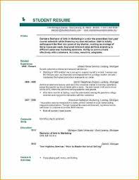 Well Written Resume Examples by Resume Example For Students Resume Examples Student Examples