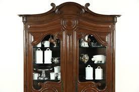curio cabinet country curio cabinet french cabinetcountry style