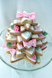 30daysofcookies shabby chic christmas tree cookie stack my top