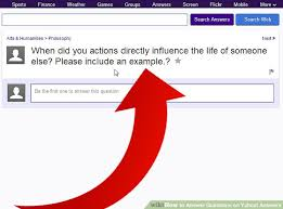 how to answer questions on yahoo answers 8 steps with pictures