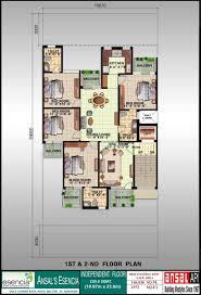 ansal esencia sovereign floors ind floor 4bhk 1572sqft house plan