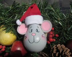 hand painted light bulb christmas elf ornament christmas