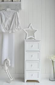 Maine Bedroom Furniture Maine Slim Chest Of Drawers White Bedroom Storage Furniture