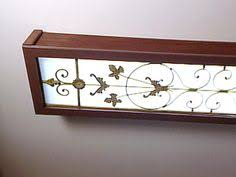 Fluorescent Kitchen Ceiling Lights Cover Up Lighting Fluorescent Light Cover Diy Projects