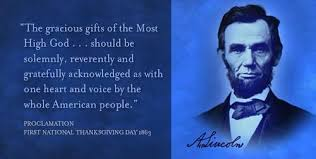 a thanksgiving reminder from abraham lincoln