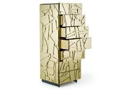 gold room divider edra scrigno sideboard