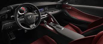 lexus lf fc interior 2018 lexus lc review buy or lease ramsey nj