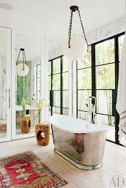 Rug For Bathroom Trend Alert Rugs In The Bathroom Mydomaine