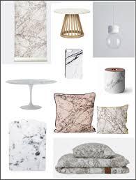 decoupe de marbre tendance deco le marbre is back chiara stella home