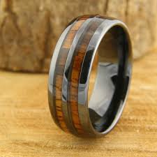 wooden finger rings images Barrel ceramic koa wood ring northernroyal jpg