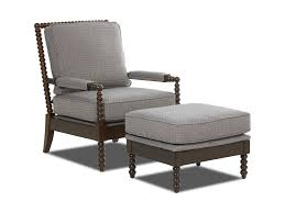 Klaussner Storage Ottoman Klaussner Chairs And Accents Rocco Accent Chair And Ottoman Set