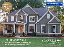 two story craftsman house plans astoria house plan house plans by garrell associates inc