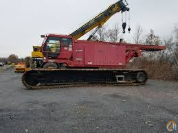 4735 lke 220 ton manitowoc crawler crane for sale or rent in