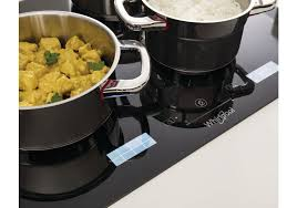 induction cuisine whirlpool smp778cneixl smartcook induction hob in black crton