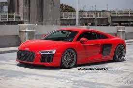 Audi R8 Red - red audi r8 v10 adv10 track spec cs series wheels adv 1 wheels