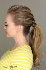 braid headband braid headband with ponytail braid ponytail