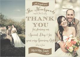 best wedding thank you cards design 19 photography thank you cards