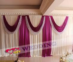 wedding backdrop accessories aliexpress buy wedding backdrops for wedding decoration new